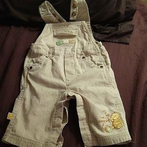 Disney classic Pooh overalls